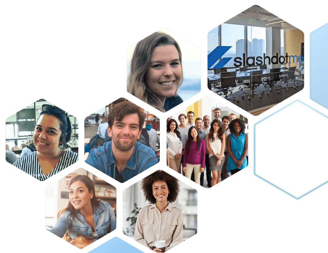 Portraits of Slashdot Media's Team members